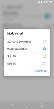 Configurar el equipo para navegar en modo de red LTE - LG G6 - Passo 6