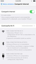 Configurar para compartir el uso de internet - Apple iPhone 6s (iOS9) - Passo 13