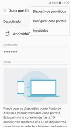 Configurar para compartir el uso de internet - Samsung Galaxy A5 2017 (A520) - Passo 8