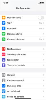 Configurar para compartir el uso de internet - Apple iPhone X - Passo 2