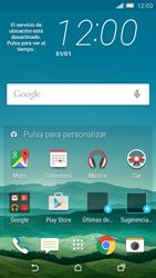 Sincronizar contactos con una cuenta Gmail - HTC One M9 - Passo 1