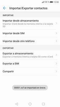 Sincronizar contactos con una cuenta Gmail - Huawei Mate 9 - Passo 14