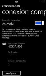 Configurar para compartir el uso de internet - Nokia Lumia 1020 - Passo 8