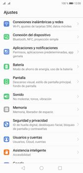 Configurar internet - Huawei P20 - Passo 2