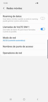 Configurar el equipo para navegar en modo de red LTE - Samsung Galaxy S10+ - Passo 6