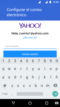 Configurar el correo electrónico - Motorola Moto G4 - Passo 9