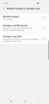 Configurar para compartir el uso de internet - Samsung Galaxy S10+ - Passo 6