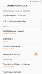 Sincronizar contactos con una cuenta Gmail - Samsung Galaxy S7 Edge (G935) - Passo 8