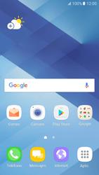 Sincronizar contactos con una cuenta Gmail - Samsung Galaxy A5 2017 (A520) - Passo 1