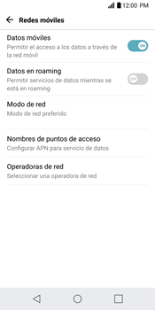 Configurar internet - LG G6 - Passo 6