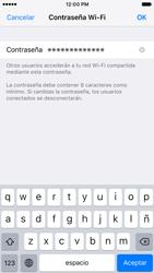 Configurar para compartir el uso de internet - Apple iPhone 6s (iOS9) - Passo 10