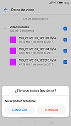 Liberar espacio en el teléfono - Huawei P10 Lite - Passo 17