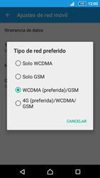 Configurar el equipo para navegar en modo de red LTE - Sony Xperia Z5 Compact - Passo 7