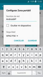 Configurar para compartir el uso de internet - Samsung Galaxy J3 2016 (J320) - Passo 7