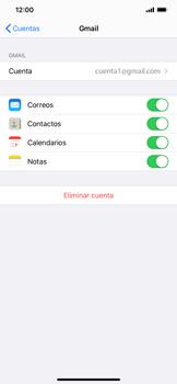 Sincronizar contactos con una cuenta Gmail - Apple iPhone 11 - Passo 7