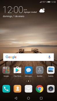 Configurar internet - Huawei Mate 9 - Passo 1