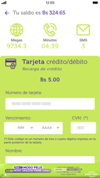 Recarga con tarjeta de crédito/débito - iOS VIVA APP MÓVIL - Passo 8