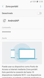 Configurar para compartir el uso de internet - Samsung Galaxy A5 2017 (A520) - Passo 7