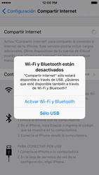 Configurar para compartir el uso de internet - Apple iPhone 7 (iOS10) - Passo 14