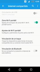 Configurar para compartir el uso de internet - Sony Xperia Z5 Compact - Passo 11