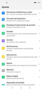 Configurar internet - Huawei Nova 5T - Passo 3