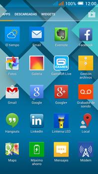 Configurar el correo electrónico - Alcatel Pop C9 - Passo 3