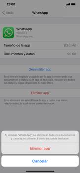 Cómo desinstalar aplicaciones - Apple iPhone 11 - Passo 7