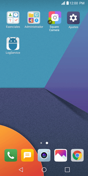 Configurar internet - LG G6 - Passo 3