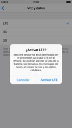 Configurar el equipo para navegar en modo de red LTE - Apple iPhone 6s (iOS9) - Passo 7