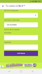 Recarga con tarjeta de crédito/débito - Android VIVA APP - Passo 7