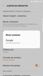 Sincronizar contactos con una cuenta Gmail - Samsung Galaxy S7 Edge (G935) - Passo 7