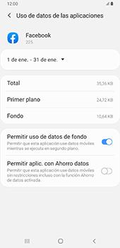 Verificar el uso de datos por apps - Samsung Galaxy A9 (2018) - Passo 9