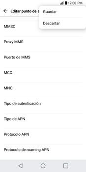 Configurar internet - LG G6 - Passo 16