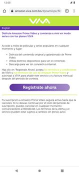 Suscripción de Amazon Prime por VIVA APP - Android VIVA APP - Passo 14