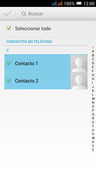 Sincronizar contactos con una cuenta Gmail - Alcatel Pop C9 - Passo 12