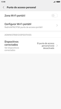 Configurar para compartir el uso de internet - Xiaomi Redmi Note 4 - Passo 8