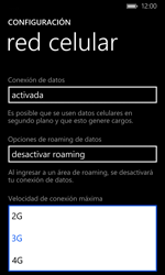 Configurar el equipo para navegar en modo de red LTE - Nokia Lumia 1020 - Passo 6