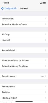 Liberar espacio en el teléfono - Apple iPhone X - Passo 3