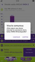 Suscripción y desuscripción de una bolsa de MB - iOS VIVA APP - Passo 19