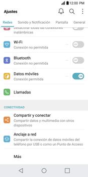 Configurar el equipo para navegar en modo de red LTE - LG G6 - Passo 3