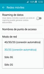Configurar el equipo para navegar en modo de red LTE - Samsung Galaxy J1 2016 (J120) - Passo 6