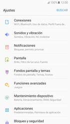 Configurar para compartir el uso de internet - Samsung Galaxy A3 2017 (A320) - Passo 3