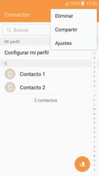 Sincronizar contactos con una cuenta Gmail - Samsung Galaxy J5 2016 (J510) - Passo 5
