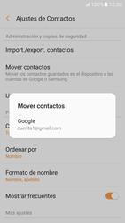 Sincronizar contactos con una cuenta Gmail - Samsung Galaxy A5 2017 (A520) - Passo 7
