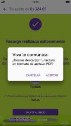 Recarga con tarjeta de crédito/débito - iOS VIVA APP MÓVIL - Passo 13