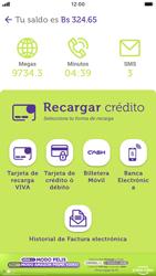 Recarga con tarjeta de crédito/débito - iOS VIVA APP MÓVIL - Passo 4