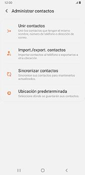 Sincronizar contactos con una cuenta Gmail - Samsung Galaxy J8 - Passo 9