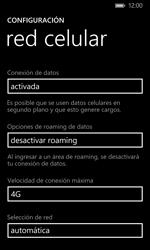 Configurar el equipo para navegar en modo de red LTE - Nokia Lumia 1020 - Passo 7