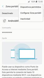 Configurar para compartir el uso de internet - Samsung Galaxy J2 Prime (2016) - Passo 8