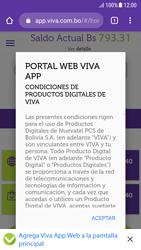 Usa VIVA APP sin que ocupe espacio en tu teléfono - Android VIVA APP - Passo 13